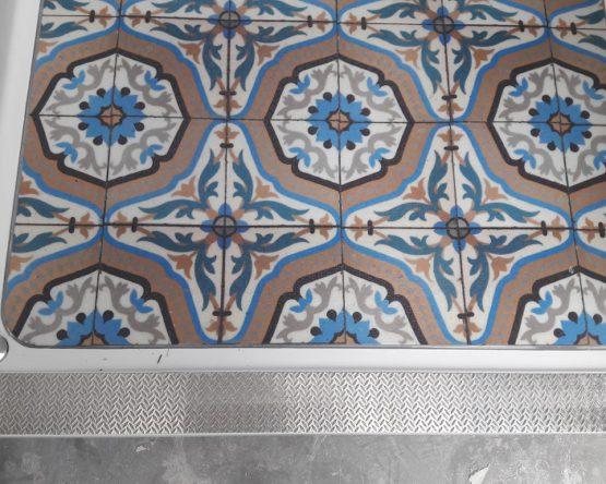 Décoration sol salle de bain