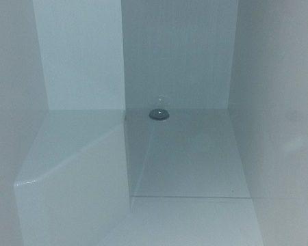 Vitre composite pour douche