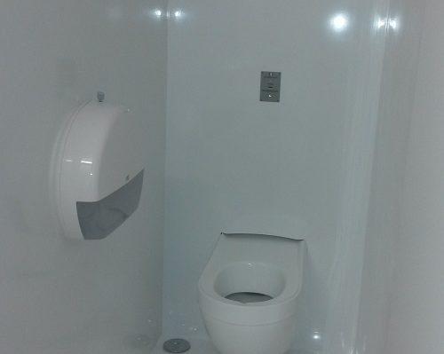 Module wc de chantier