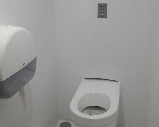 WC hygiènne automatique chantier