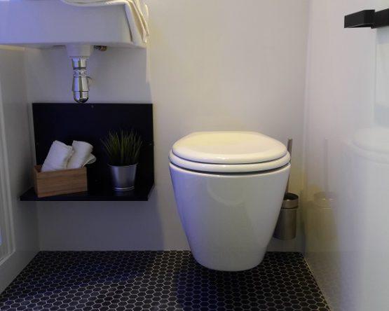 Kit lavabo et wc préfabriqué